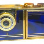 Kunik Petie vanity bleu :gold 1
