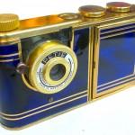Kunik Petie vanity bleu :gold 2