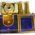Kunik Petie vanity bleu :gold 9